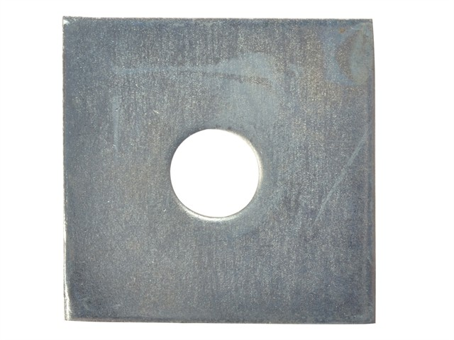 Square Plate Washer ZP 50 x 50 x 12mm Bag 10