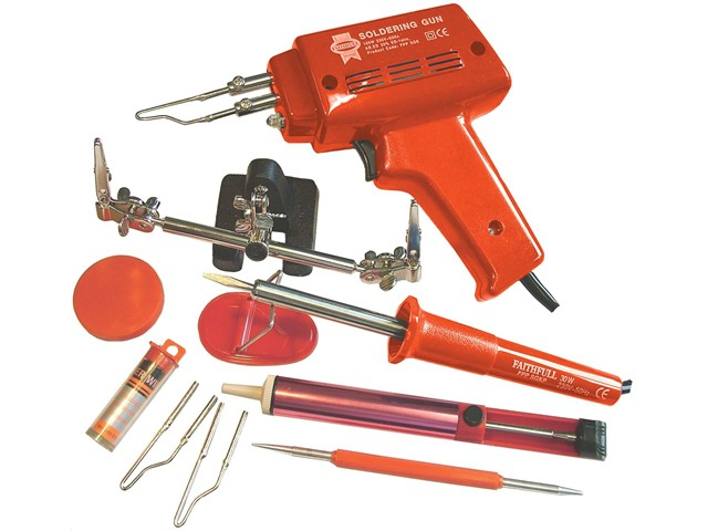 SGKP Soldering Gun 100 Watt & Iron Kit 30 Watt 240 Volt