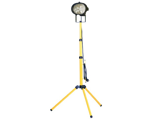 Single Tripod Site Light 500W 240V
