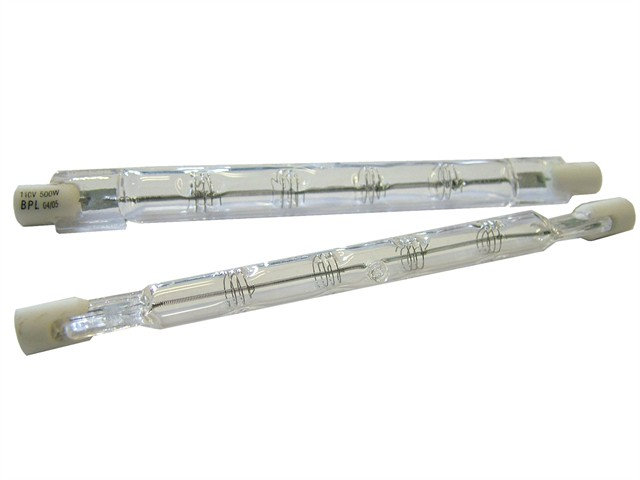 78mm Halogen Tubes Class C 150W 240V (Pack of 2)
