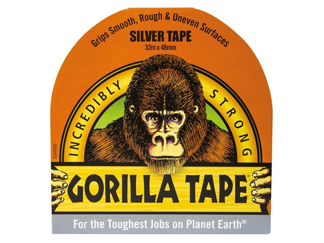 Gorilla Tape Silver 48mm x 32m