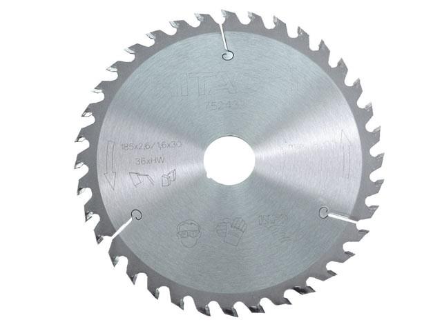 Circular Saw Blade 185 x 30mm x 36T