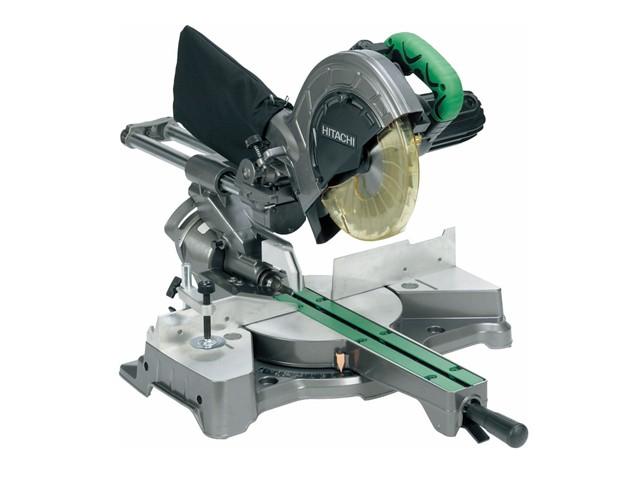 C8FSEB Sliding Compound Mitre Saw & Blade 216mm 1050W 110V
