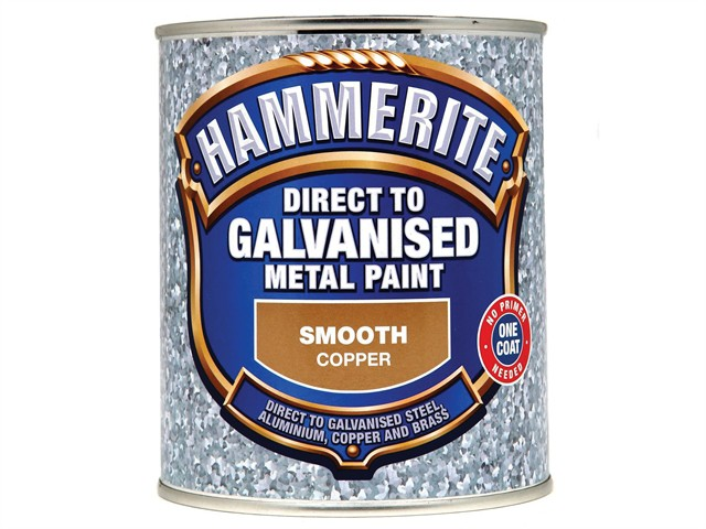 Direct to Galvanised Metal Paint Copper 750ml