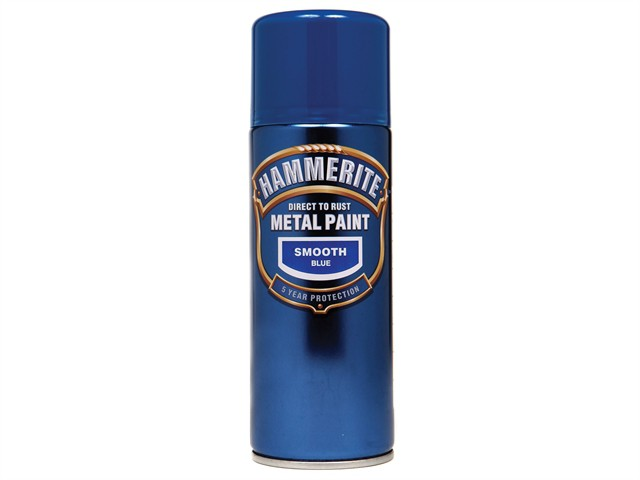 Direct to Rust Smooth Finish Aerosol Blue 400ml