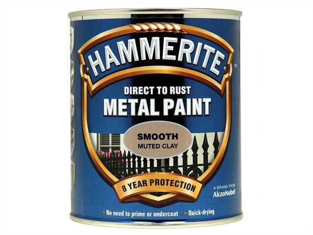 Direct to Rust Smooth Finish Metal Paint Muted Clay 750ml
