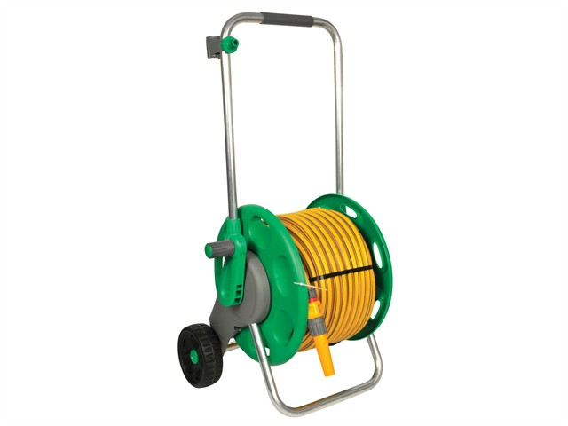 2435 60m Assembled Hose Cart & 50 Metres of 12.5mm Hose