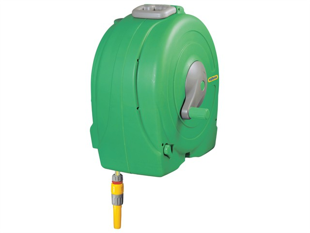 2496 Wall Mounted 40m Fast Reel + 40m of 12.5mm Hose