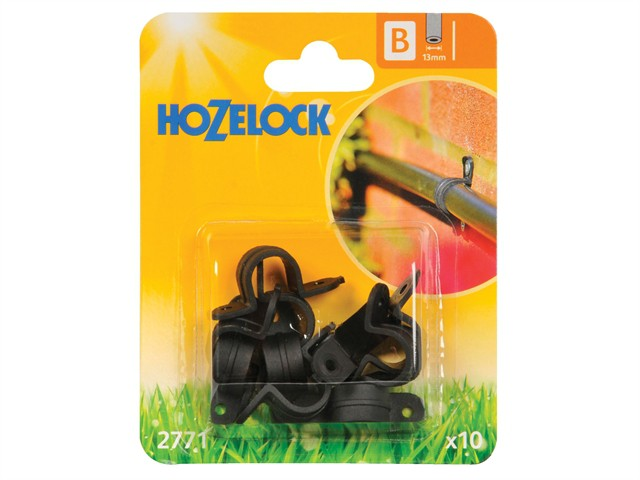 Wall Clip 13mm (10 Pack)