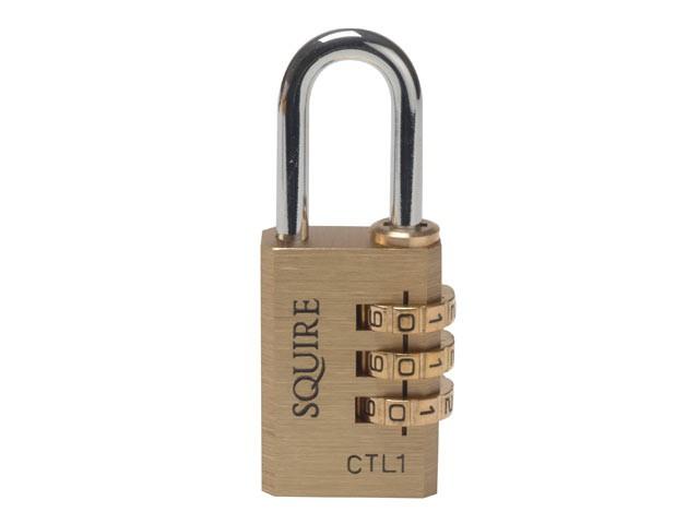 CTL1 Brass Tool Box Combination Lock 30mm
