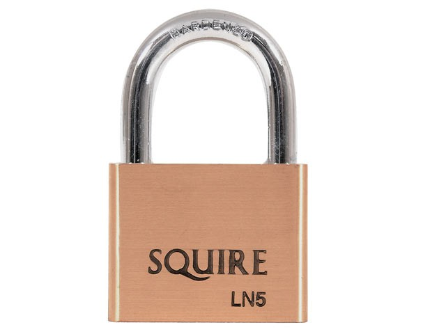LN5 Lion Brass Padlock 5-Pin 50mm