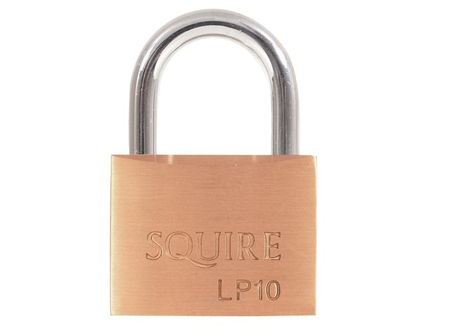 LP10 Leopard Brass Padlock 50mm