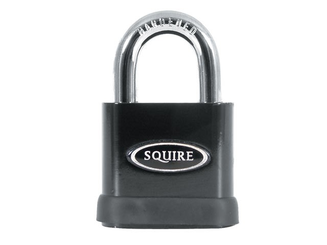 SS50P5 Stronghold Solid Steel & Brass Padlock 50mm CEN3