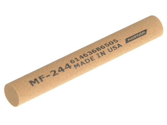 CF214 Round File 100 x 6mm - Coarse
