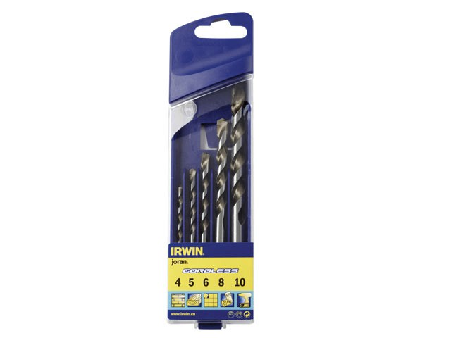 Cordless Multi-Purpose Drill Bit Set 5 Piece 5-10mm