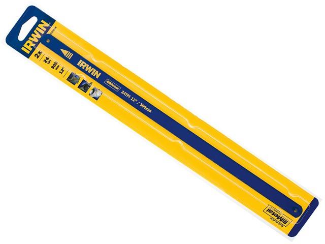 Bi-Metal Hacksaw Blades 300mm (12in) 24tpi Pack 2
