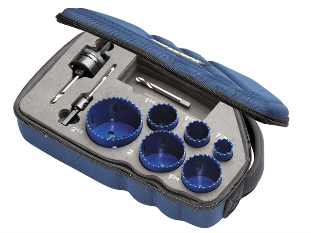 Bi-Metal Holesaw Kit 600L