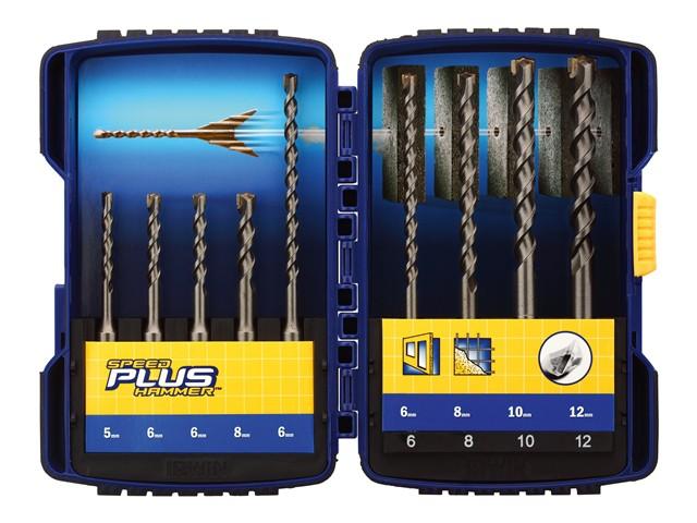Speedhammer Plus Drill Bit Set 9 Piece 5-12mm