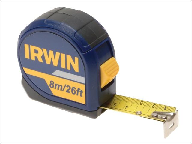Standard Pocket Tape 8m/26ft (Width 25mm) Carded