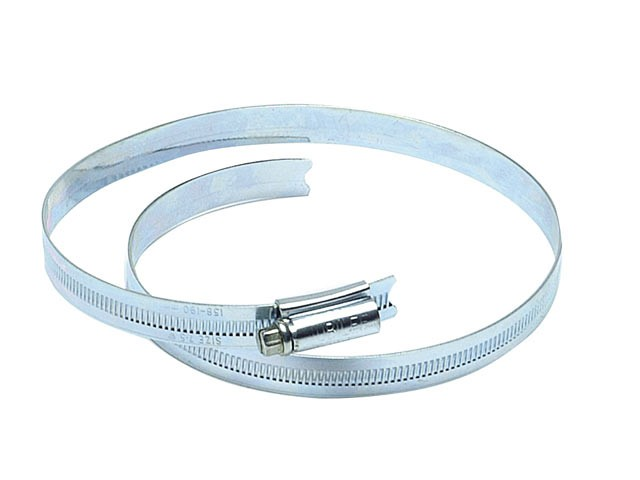 7.1/2in Zinc Protected Hose Clip 158 - 190mm (6.1/4 - 7.1/2in)
