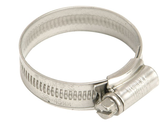 1A Stainless Steel Hose Clip 22 - 30mm (7/8 - 1.1/8in)