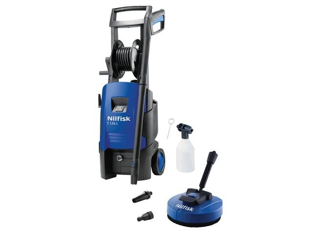 C130.1-6 P X-TRA Pressure Washer & Patio Brush 130 Bar 240V