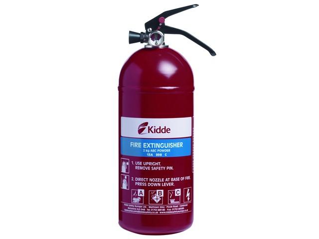Fire Extinguisher Multi-Purpose 2.0kg ABC