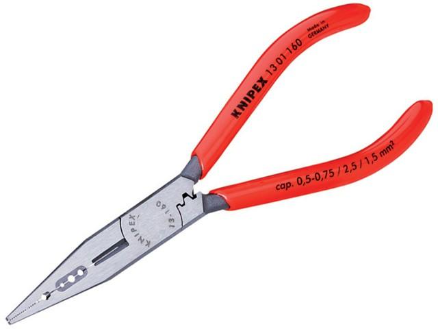 4 in 1 Electricians Pliers PVC Grip 160mm (6.1/4in)