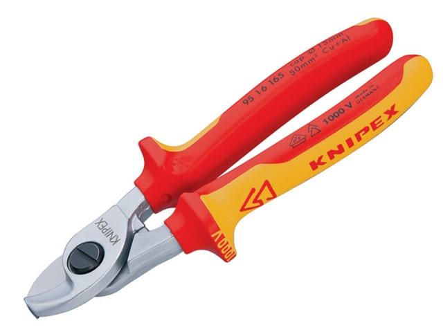 Cable Shears VDE Certified Grip 165mm