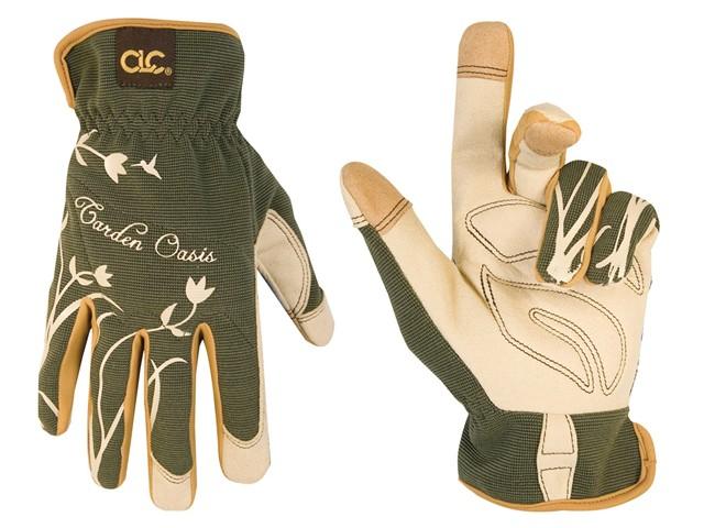 Flexgrip Padded Garden Oasis Ladies Gloves (One Size)