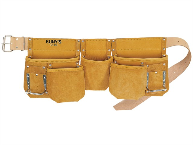 AP-630 Carpenter's Apron Full Grain Leather