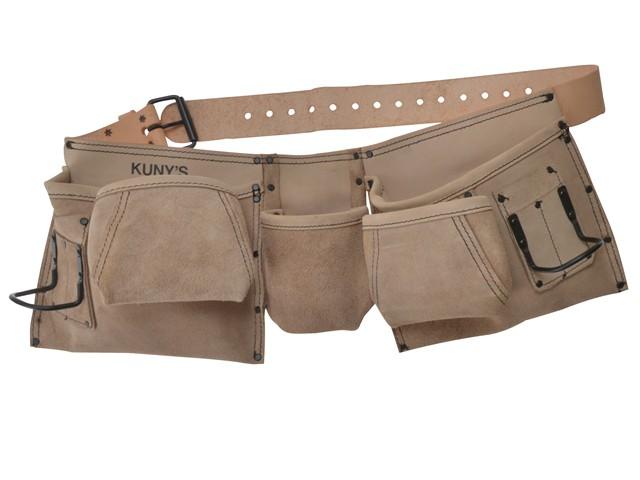 AP-633 Carpenter's Apron 9 Pocket Full Grain Leather