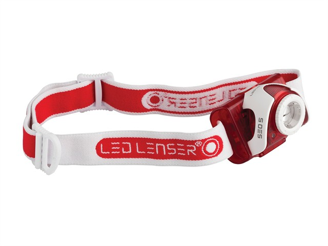 SEO5 Headlamp - Red (Test-It Pack)