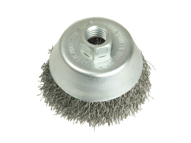 Cup Brush 150mm 5/8 BSW x 0.35 Steel Wire
