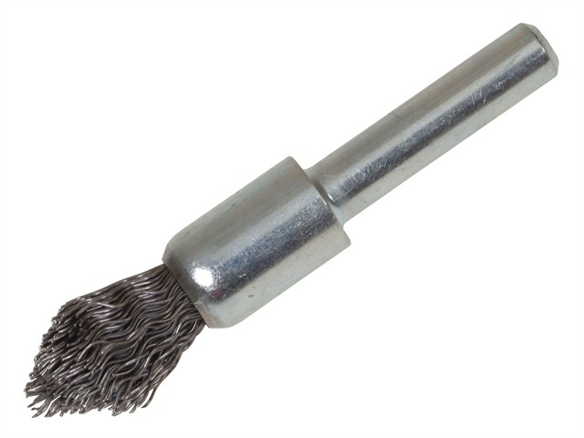 Pointed End Brush with Shank 12/60 x 20mm 0.30 Steel Wire