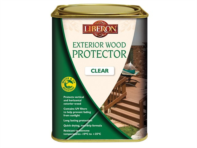 Exterior Wood Protector Clear 5 Litre
