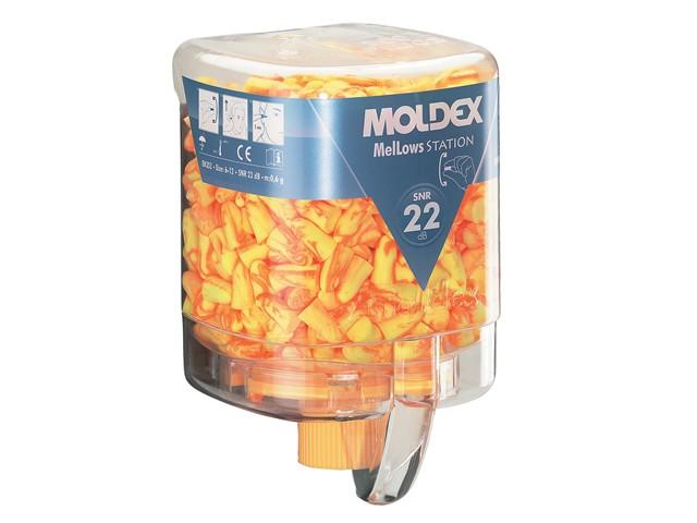 Disposable Foam Earplugs Mellows Station (250 Pairs) SNR 22 dB