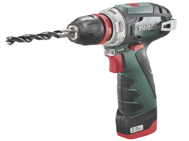 PowerMaxx BS Quick Basic Drill Driver 10.8V 2 x 2.0Ah Li-Ion