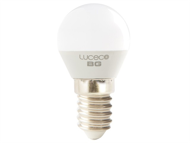 LED Mini Globe Bulb E14 (SES) Non-Dimmable 470 Lumen 5.2 Watt 2700K
