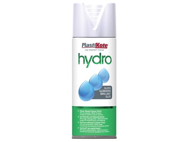 Hydro Spray Paint White Gloss 350ml
