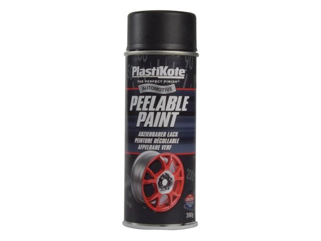 Peelable Paint Black Matt 400ml
