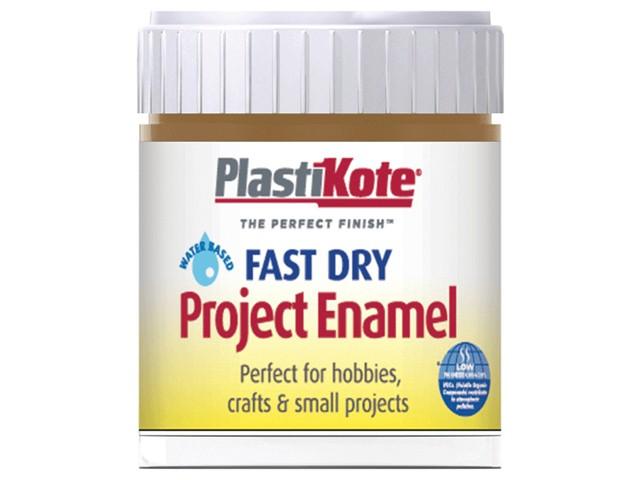 Fast Dry Enamel Paint B17 Bottle Nut Brown 59ml