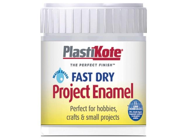 Fast Dry Enamel Paint B30 Bottle Silver Aluminium 59ml