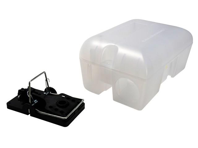 Enclosed Rat Trap Lockable Box