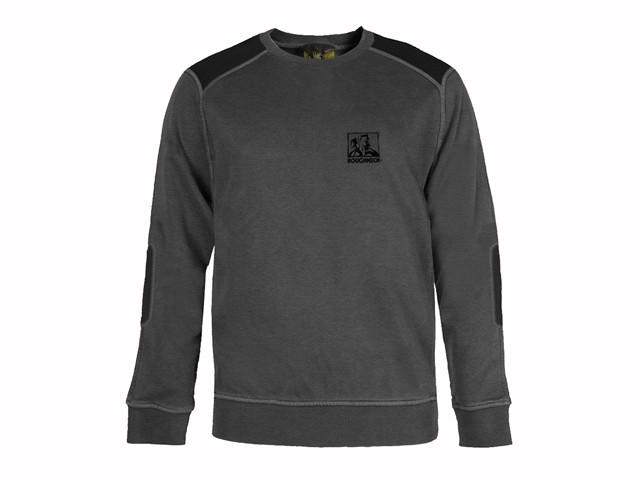 Grey Crewneck Sweatshirt - XXL (50-52in)