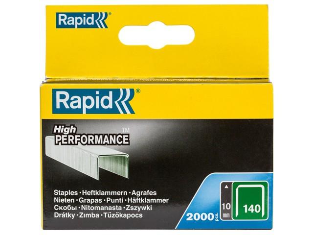 140/10 10mm Galvanised Staples Box 2000