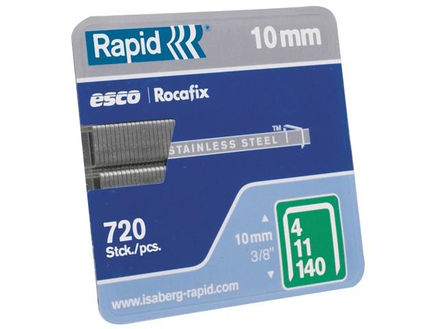 140/12 12mm Galvanised Staples Box 2000