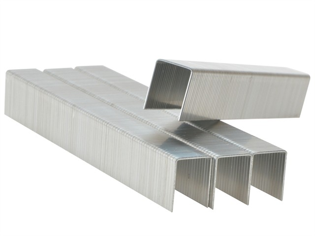 140/14 14mm Galvanised Staples Box 2000