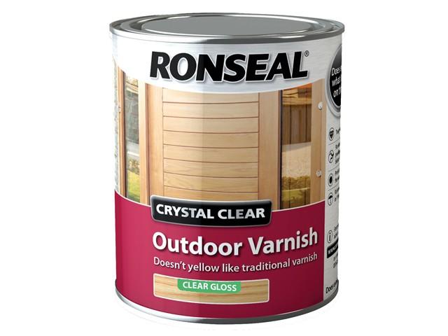 Crystal Clear Outdoor Varnish Matt 2.5 Litre