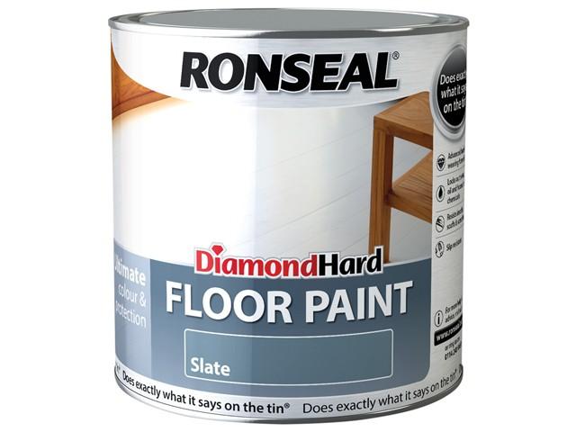 Diamond Hard Floor Paint Slate 2.5 Litre